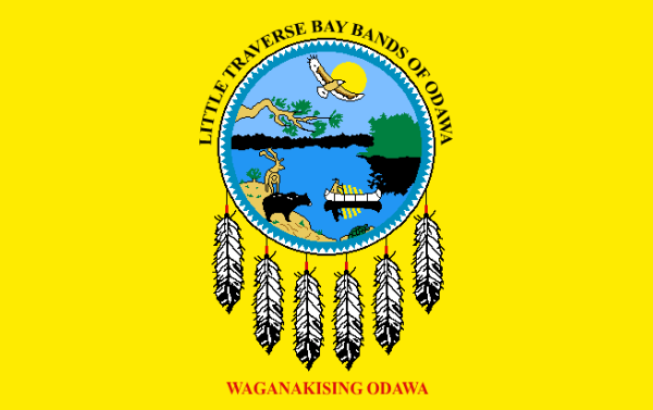 Little Traverse Bay Band of Odawa stands #UnitedForICWA